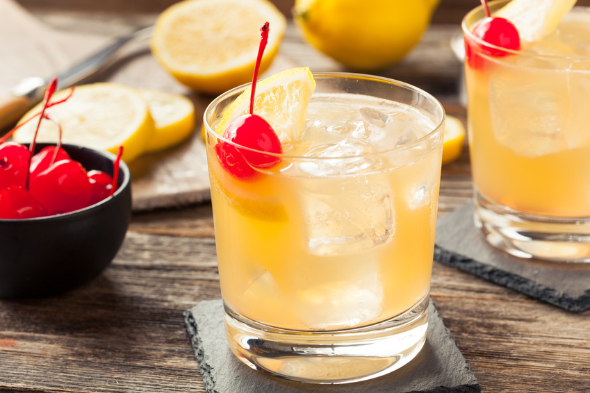 Whisky-Cocktails: Scotch Sour