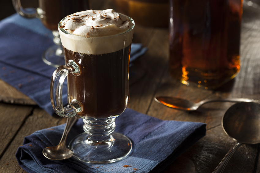 Whisky-Cocktails: Irish Coffee