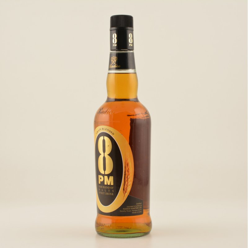 8 PM Indian Whisky 40% 0,7l