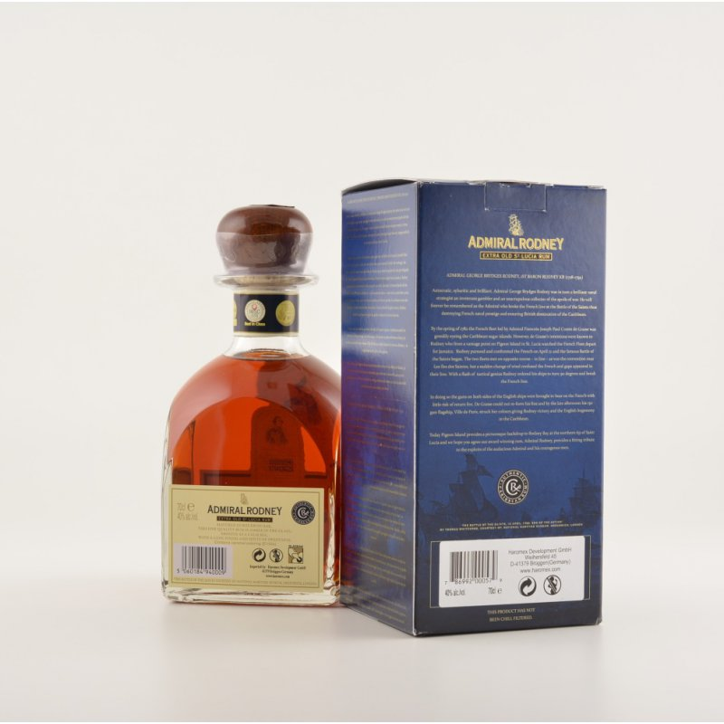Admiral Rodney Rum Extra Old 40% 0,7l