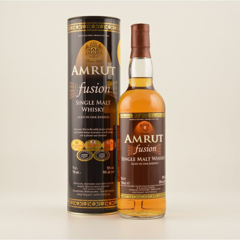 Amrut Fusion Indian Whisky 0,7l 50% (62,14 € pr...