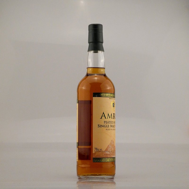 Amrut Peated Indian Whisky 46% 0,7l