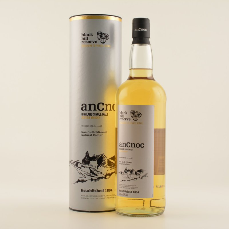 An Cnoc Black Hill Reserve Whisky 46% 1,0l (38,...