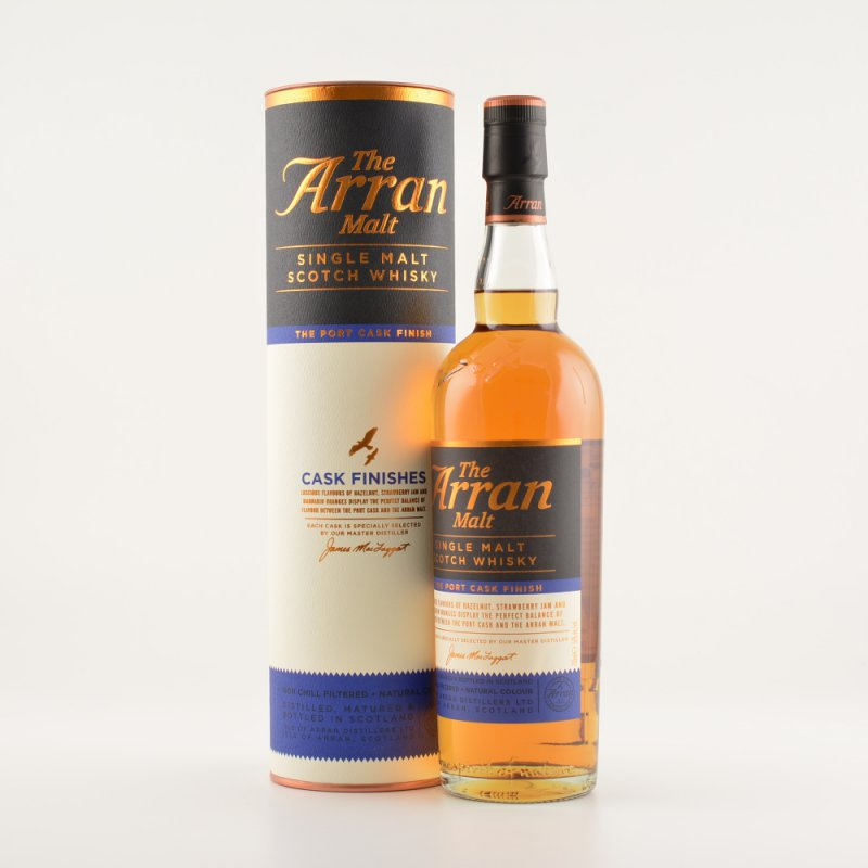 Arran Malt Port Cask Finish Island Whisky 50% 0...