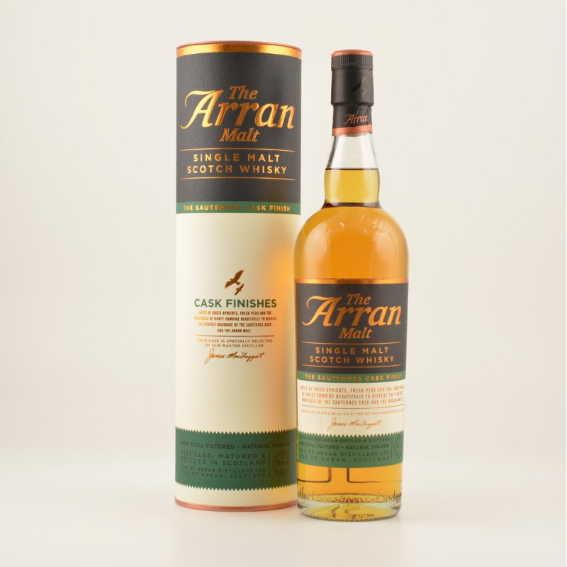 Arran Malt Sauternes Cask Finish Island Whisky ...