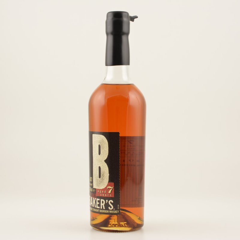 Bakers 107 Proof 7 Jahre Bourbon Whiskey 53,5% 0,7l