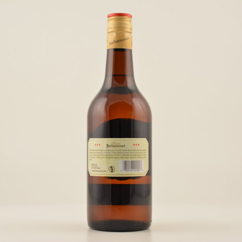 Barbancourt Rhum Three Stars 4 Jahre 40% 0,7l