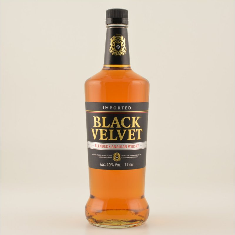 Black Velvet Canadian Whisky 40% 1,0l (14,50 € ...