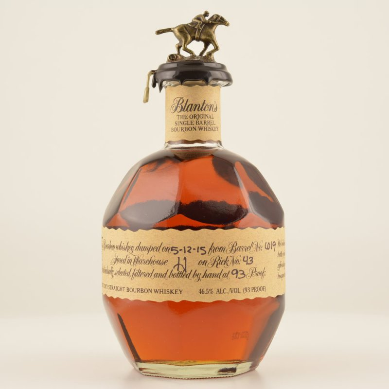 Blantons Original Single Barrel Bourbon Whiskey 46,5% 0,7l