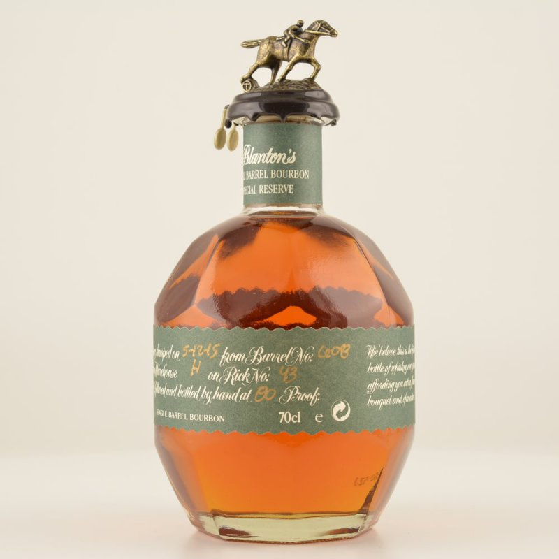 Blantons Single Special Reserve Bourbon Whiskey 40% 0,7l