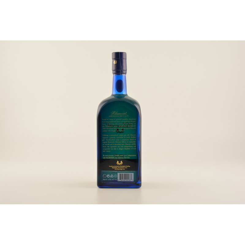 Bluecoat Barrel Reserve American Dry Gin 47% 0,7l