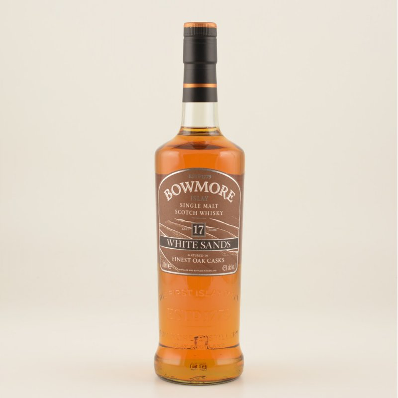 Bowmore 17 Jahre White Sands Islay Whisky 43% 0...