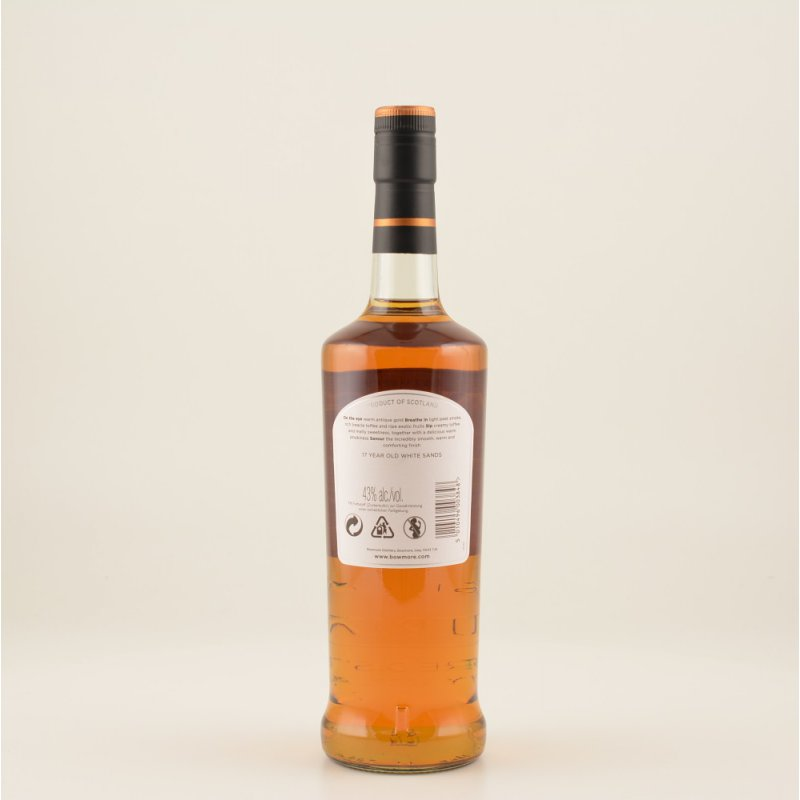 Bowmore 17 Jahre White Sands Islay Whisky 43% 0,7l