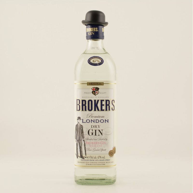 Brokers Premium Gin 47% 0,7l