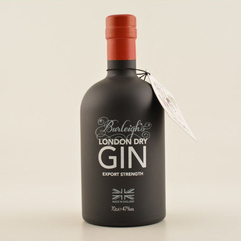 Restposten: Burleigh's London Dry Gin Export Strength 47% 0,7l