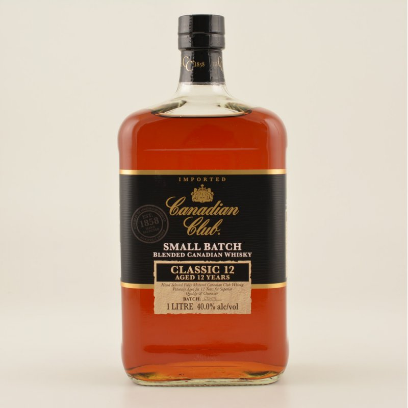 Canadian Club Classic Whisky 12 Jahre 40% 1,0l ...