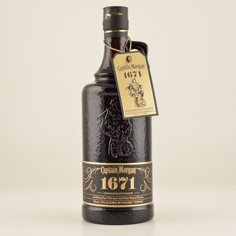 1671 Com. Blend Limited Edition 2014 (Rum Basis) 35% 0,7l (64,14 € pro 1 l)