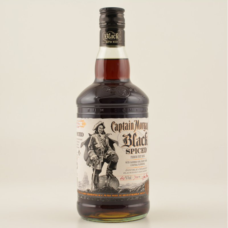 ... Morgan Black Spiced Rum 40% 0,7l, 16,90 € - Rum & Co Spirituosen