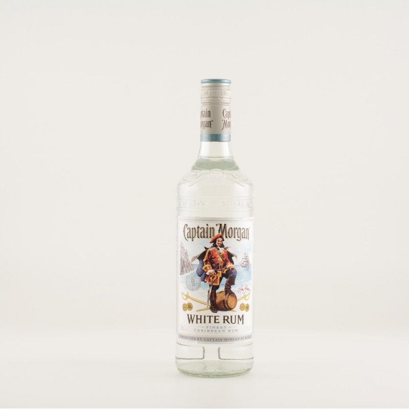 Captain Morgan White Rum 37,5% 0,7l