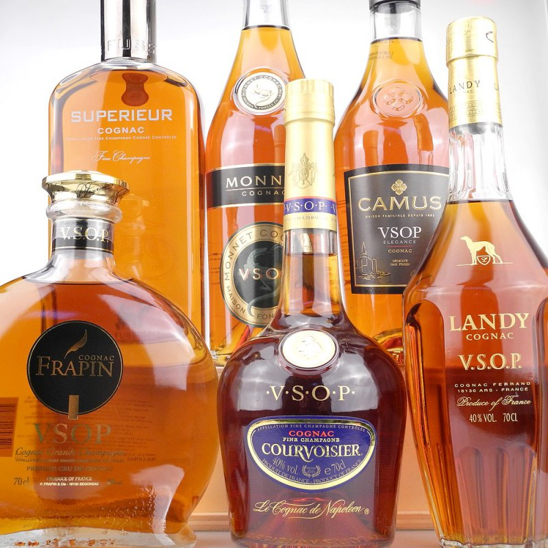 Cognac Tasting Set VSOP - Very Superior Old Pale (140,83 € pro 1 l)