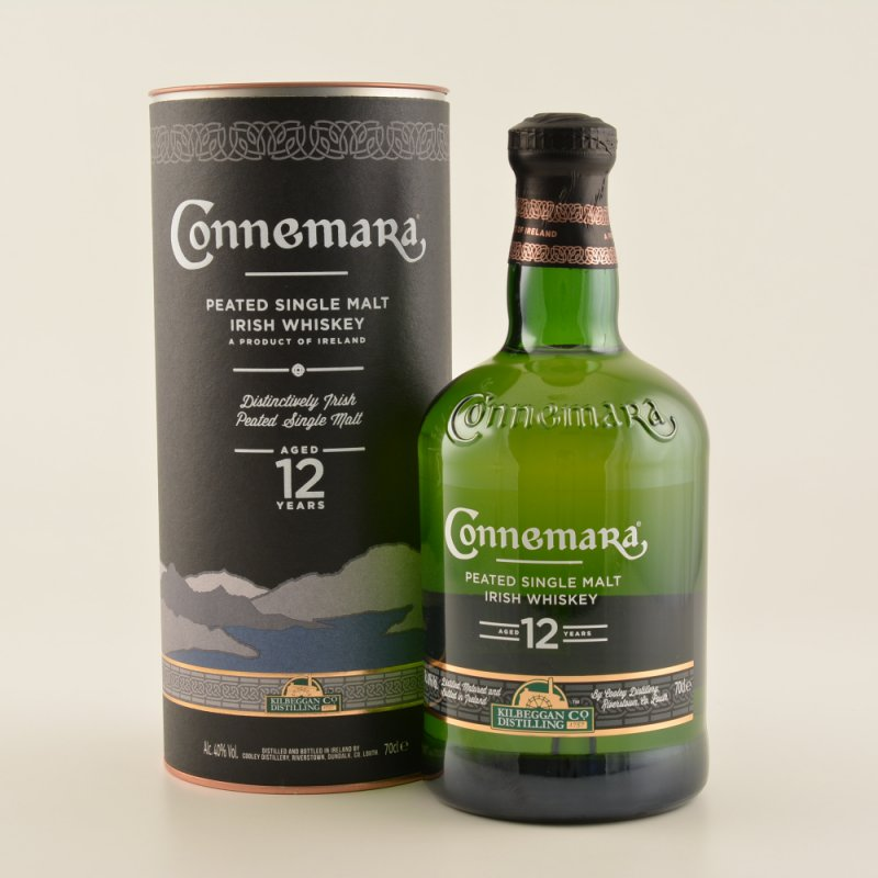 12 Jahre Peated Irish Whiskey 40% 0,7l (81,29 € pro 1 l)