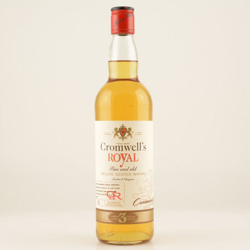 Cromwell´s Royal Deluxe Scotch Whisky 0,7l 40% ...