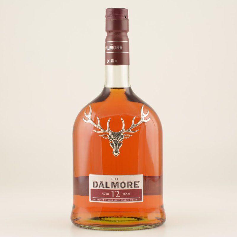 Dalmore 12 Jahre Highland Whisky 40% 1,0l