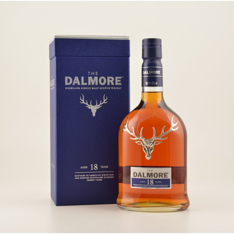 Dalmore 18 Jahre Highland Whisky 43% 0,7l (142,...