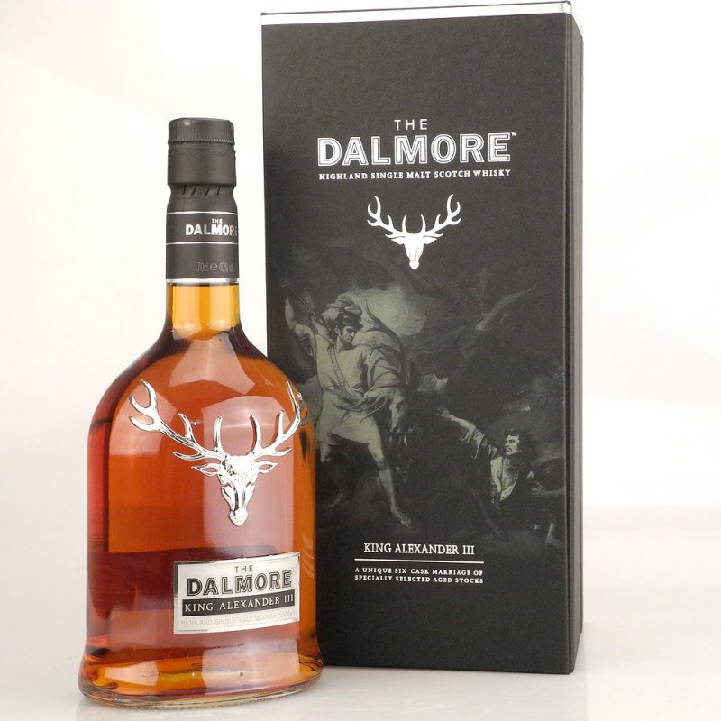 Dalmore King Alexander III Highland Whisky 40% ...