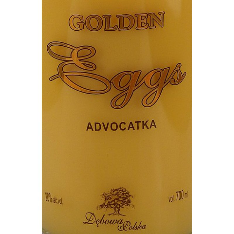 Debowa Golden Eggs Eierlikör 20% 0,7l