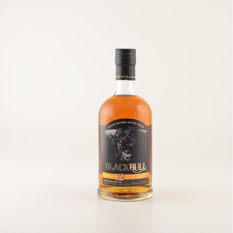 Black Bull Blended Scotch Whisky 12 Jahre 50% 0,7l (71,29 € pro 1 l)