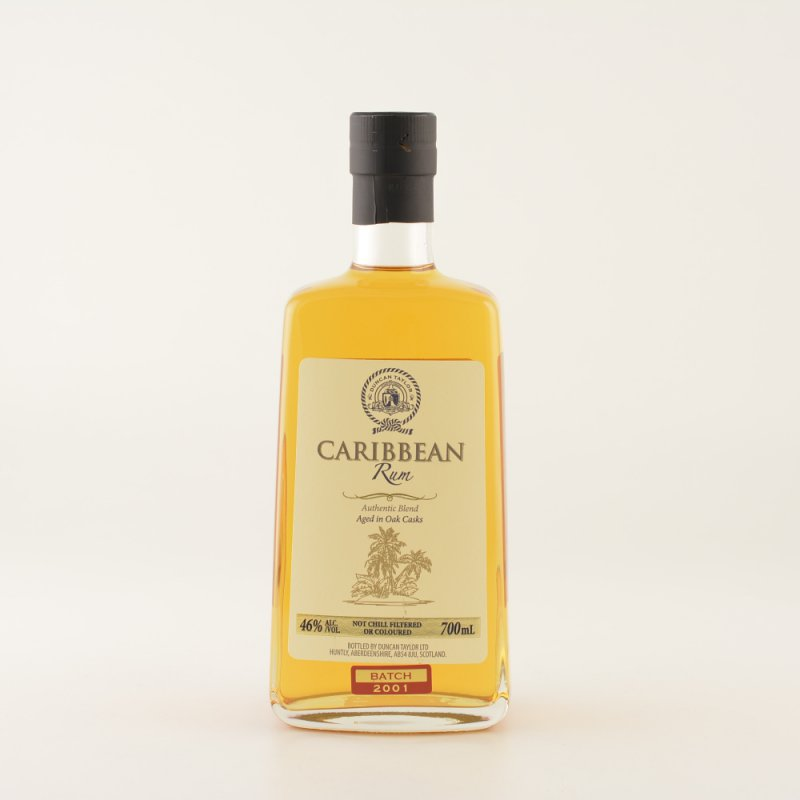 Duncan Taylor Carribean Blended Rum 12 Jahre 46% 0,7l