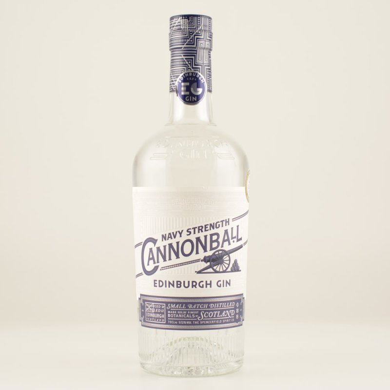 Cannonball Gin Navy Strenght 57,2% 0,7l (64,14 € pro 1 l)