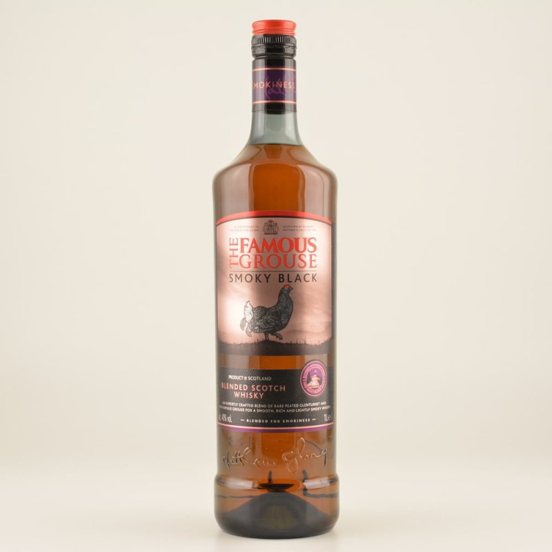 Famous Grouse Smoky Black Whisky (peaty) 40% 1,...