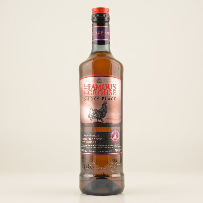 Famous Grouse Smoky Black Whisky (peaty) 40% 0,...
