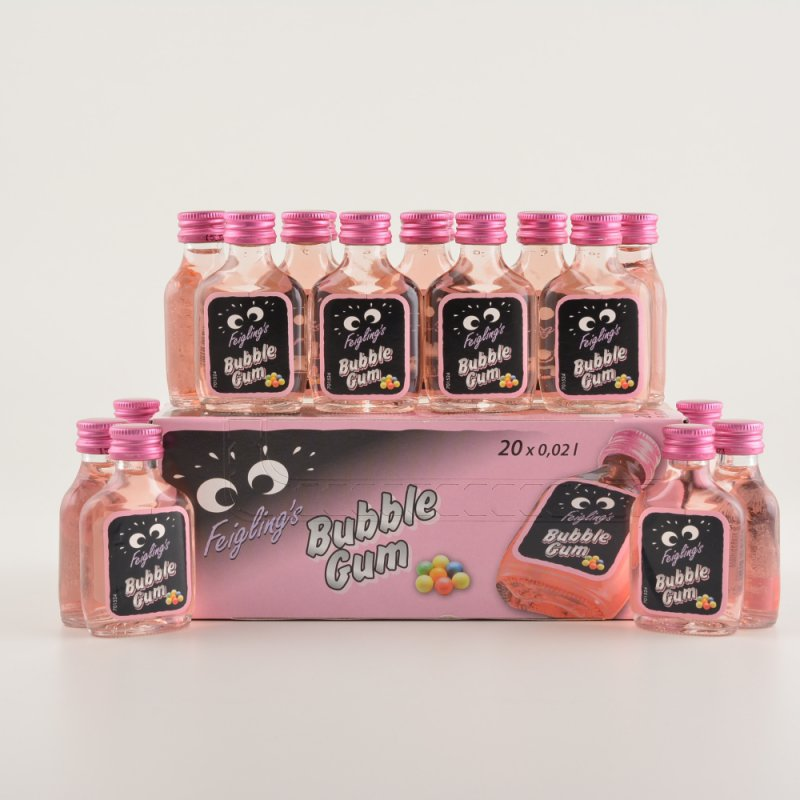 Feigling's Fancy Flavour BUBBLE GUM Box (20x0,02l)