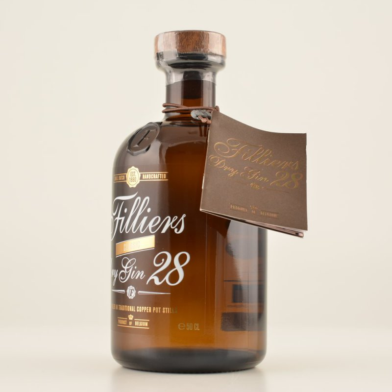 Filliers 28 Dry Gin 46% 0,5l