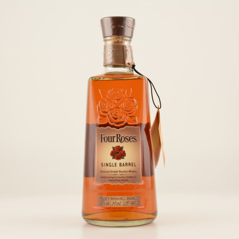 Four Roses Single Barrel Bourbon Whiskey 50% 0,7l