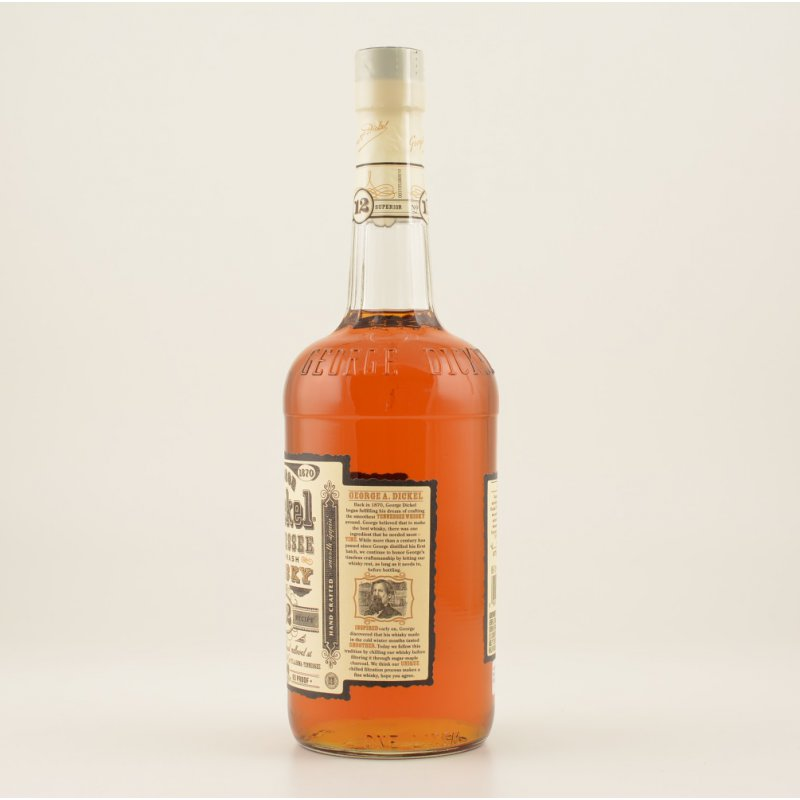 George Dickel No. 12 Tennessee Whisky 45% 1,0l