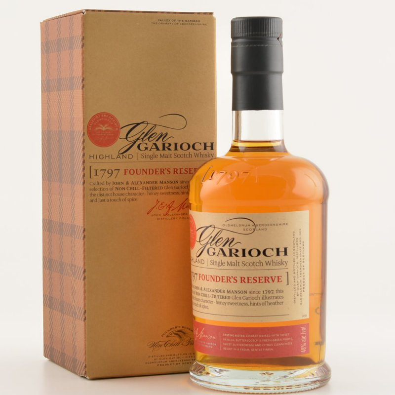Glen Garioch Founders Reserve Highland Whisky 0...