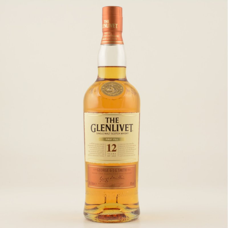 12 Jahre First Fill Speyside Whisky 40% 0,7l (49,86 € pro 1 l)
