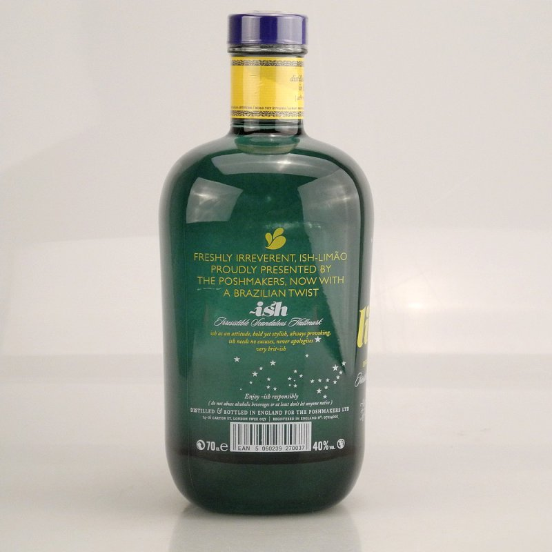 ISH Limao Gin Limited Brazilian Edition 40% 0,7l