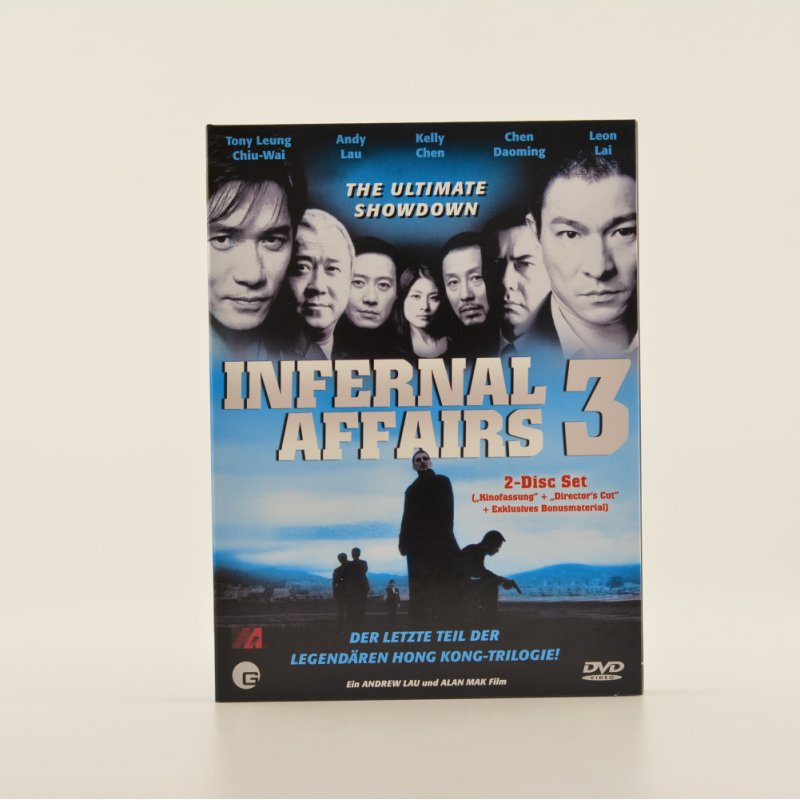 Infernal Affairs 3 DVD 2-Disc Set (2,95 € pro 1...