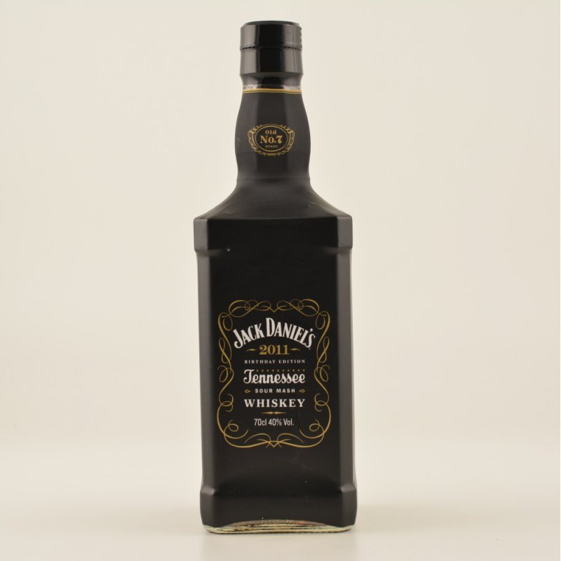 Jack Daniels Birthday Limited 2011 Whiskey 40% 0,7l