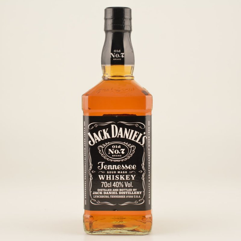 Jack daniels tennessee whiskey 40 0 7l 21 90 for Photos jack daniels