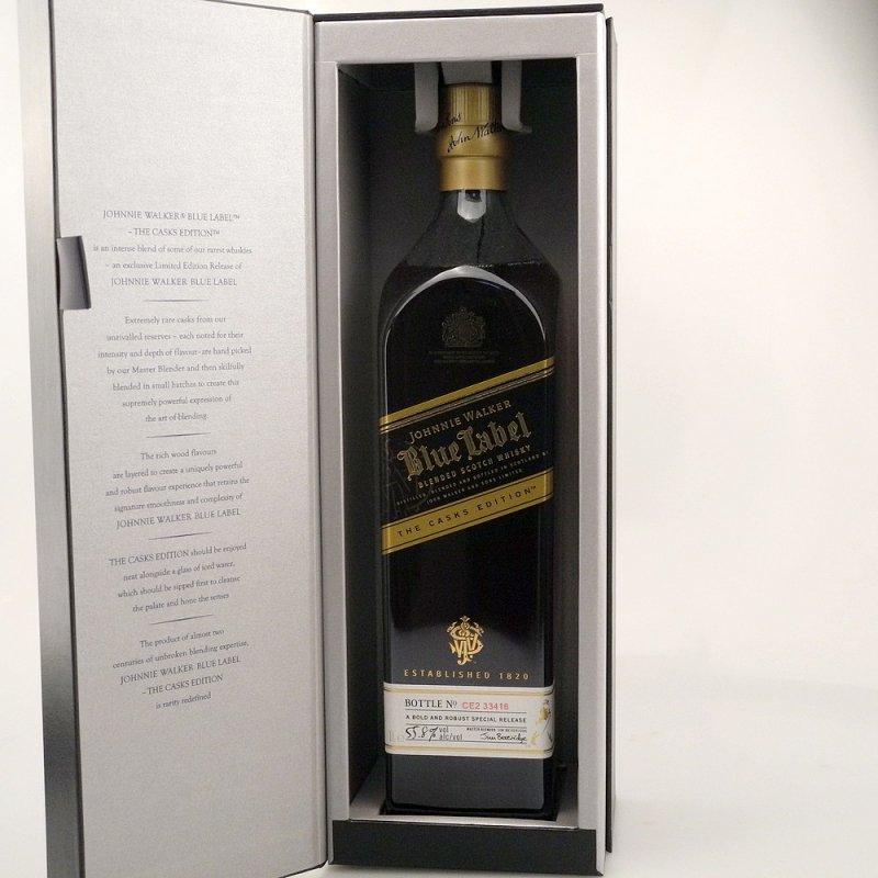 Johnnie Walker Blue Label The Cask Edition 55,8% 1,0l
