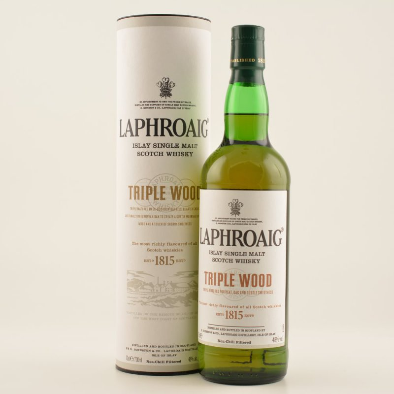 Laphroaig Triple Wood Whisky 48% 0,7l (65,57 € ...