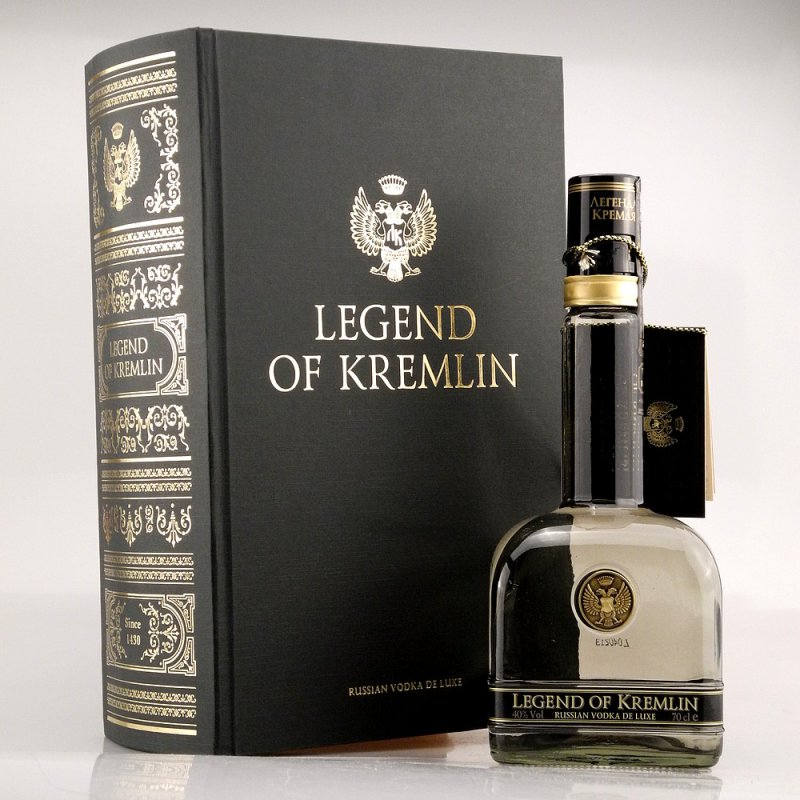 Legend of Kremlin Premium Vodka Exclusive Book ...