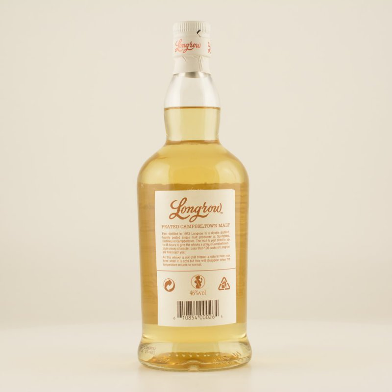 Longrow Peated Campbeltown Whisky 46% 0,7l