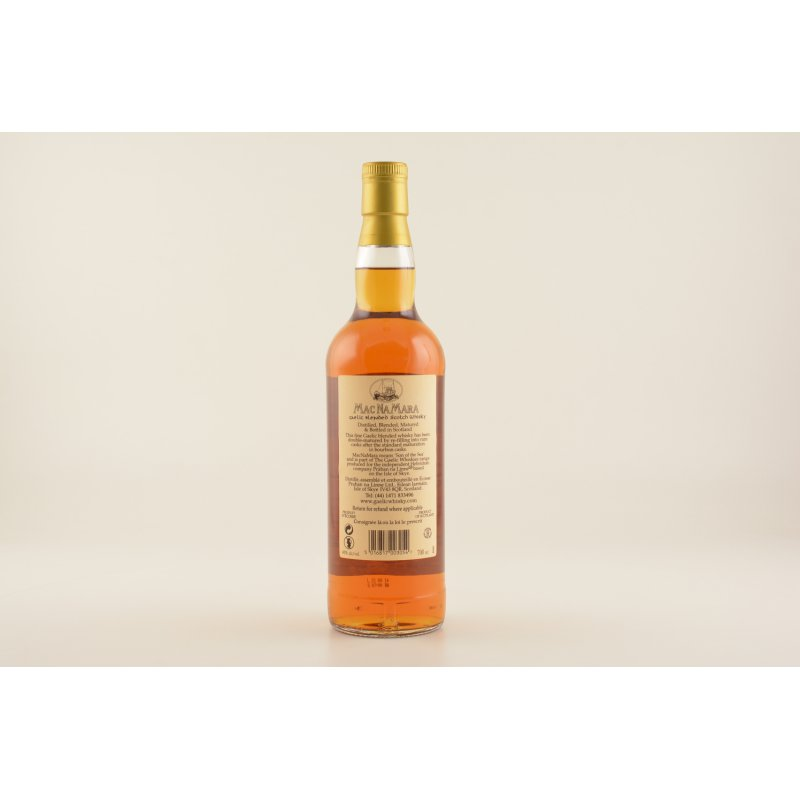 MacNamara Rum Finish Blended Whisky 40% 0,7l